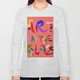 ART IN THE GLASS #6 Long Sleeve T-shirt