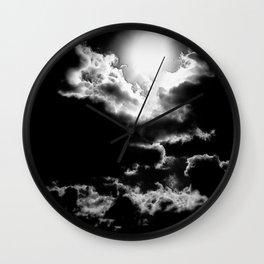 Dark Sky. © J&S Montague. Wall Clock