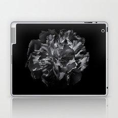 Backyard Flowers In Black And White 25 Laptop & iPad Skin