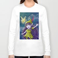 neverland Long Sleeve T-shirts featuring Lulu Neverland by Anais.Lalovi