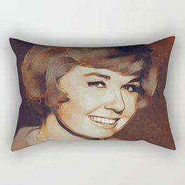 Doris Day, Hollywood Legend Rectangular Pillow