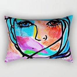 Clean it Up Dirty Girl Rectangular Pillow