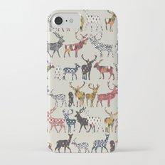 oatmeal spice deer Slim Case iPhone 7