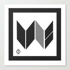 We Are The United -  Logo Identity  Canvas Print