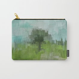 Spring Breeze Abstract Expressions Carry-All Pouch