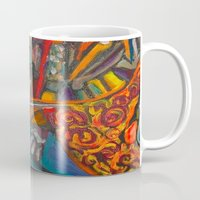 once upon a  time Mugs featuring Once Upon a Time  by Ming Myaskovsky