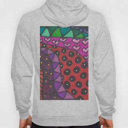 Colorful Zentangle Hoody