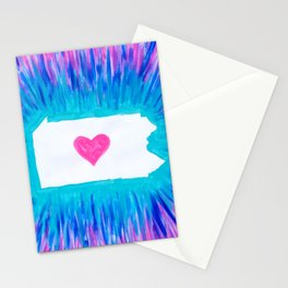 Pennsylvania State Pride Stationery Cards