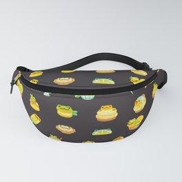 Sweet Lemon frog - dark Fanny Pack