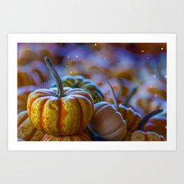 Pumpkin Paradise (Color) Art Print