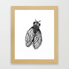 consumption is an illusion Framed Art Print
