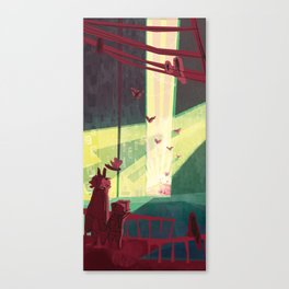 Unexpected Signs! Canvas Print