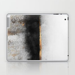 Soot And Gold Laptop & iPad Skin