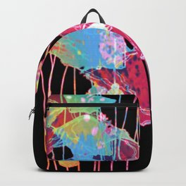 festive abstract bouquet with light Backpack