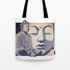 Zen Buddha: Awakened and Enlightened One Tote Bag