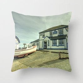Paris Hotel at Coverack Throw Pillow