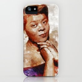 Dinah Washington, Music Legend iPhone Case