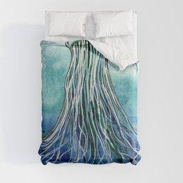 Emperor Jellyfish Comforters
