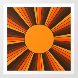 Golden Sunshine State Art Print