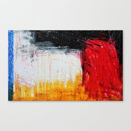 too German without blue Canvas Print