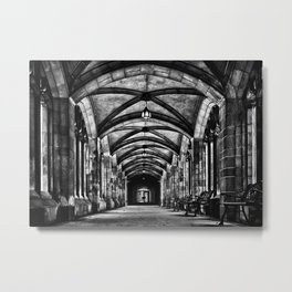University of Toronto Knox College Cloister No 1 Metal Print