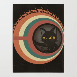 Cats planet Poster