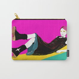 sae-pink Carry-All Pouch