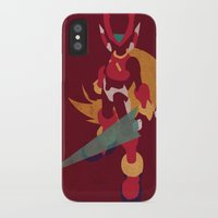 megaman iPhone & iPod Cases featuring Megaman Zero by JHTY