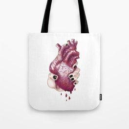 Heart Juice Tote Bag