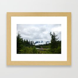Rainy Day Framed Art Print
