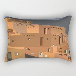 Mexico Taos Pueblo Rectangular Pillow