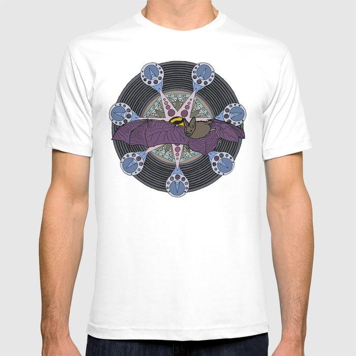bat and heptagram T-shirt