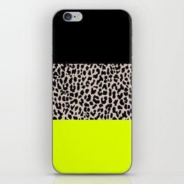 Leopard National Flag V iPhone Skin