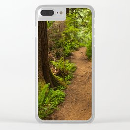 The trail Clear iPhone Case
