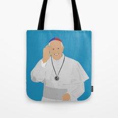 Pope Francis - San Lorenzo version Tote Bag