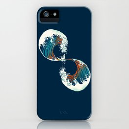 The Wave is forever iPhone Case