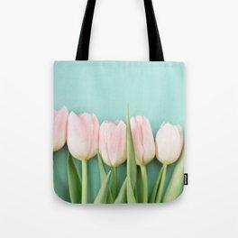 Tulips in Pastel Tote Bag