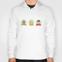 royal tenenbaums Hoodies featuring The Tenenbaums by Galaxyspeaking