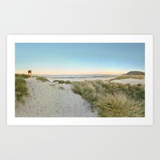 Oregon Coast Sunrise Art Print