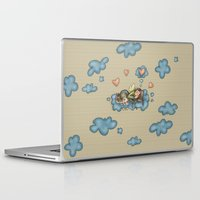 angel Laptop & iPad Skins featuring Angel by Catru