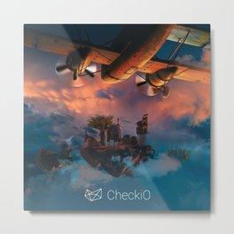 CheckiO islands Metal Print