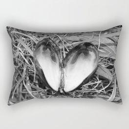 Loveheart Mussels Rectangular Pillow
