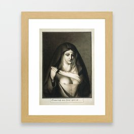 The Awful Disclosures of Maria Monk Framed Art Print