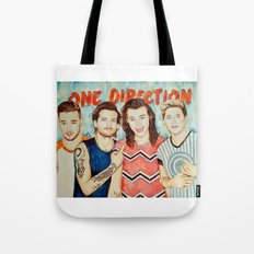 One Direction, Louis, Niall, Liam, Harry, Singer Tote Bag