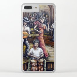 Cabaret Clear iPhone Case