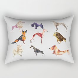 Dog breeds Rectangular Pillow