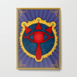 The Omniscient Sheikah Eye Metal Print