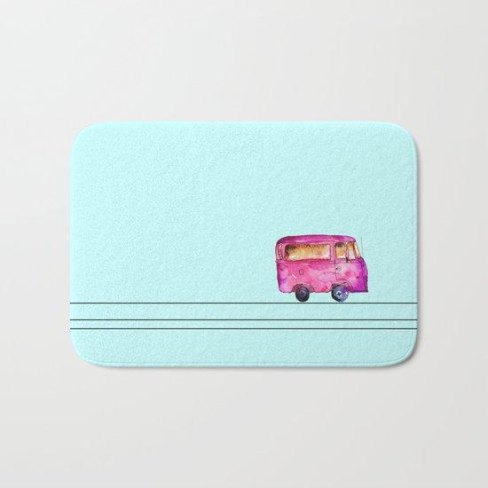 Little bus Bath Mat