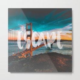 ESCAPE San Francisco Metal Print