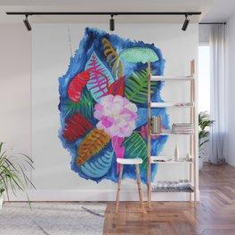 Tropical Posy Wall Mural